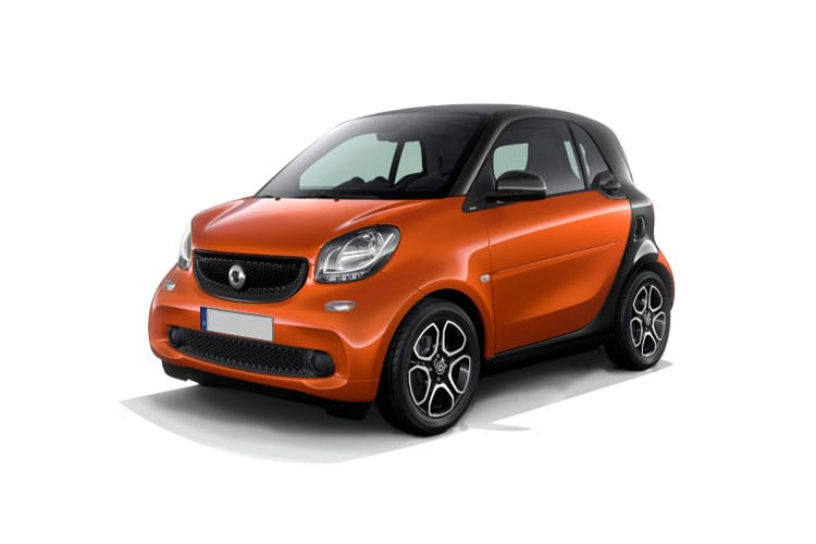 2018 Fortwo Coupe Model Range