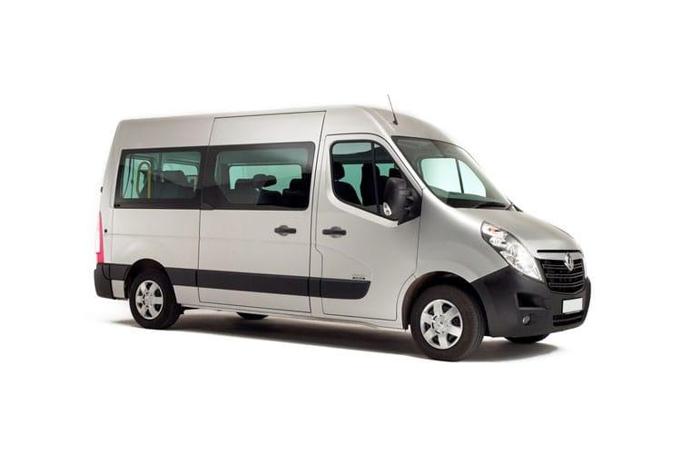 Movano Combi/minibus Models