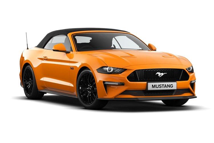 Mustang Model Range