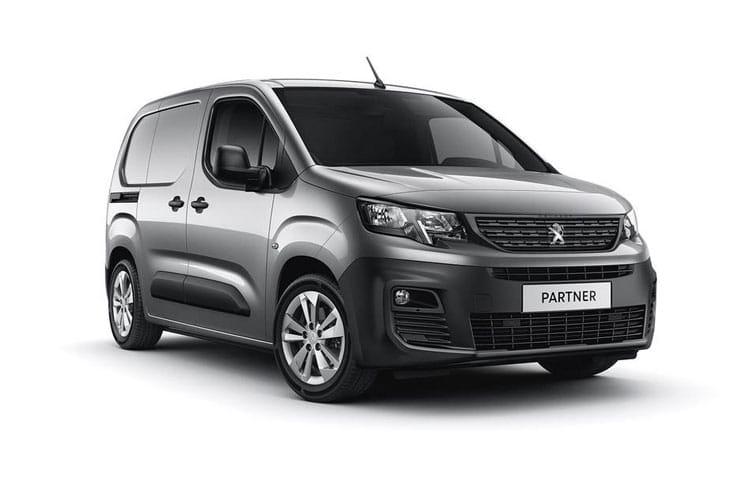Partner Van Model Range